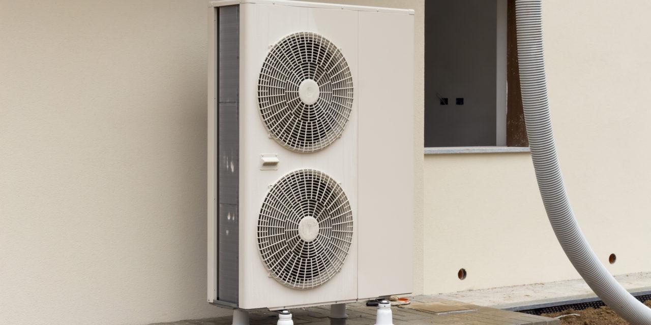 Du kan spare penge på varmebudgettet med en varmepumpe